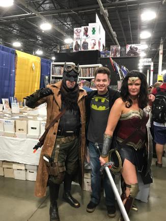 WW and Affleck Batman